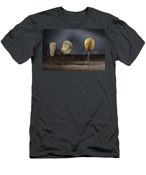 Simple Things - Potatoes Men's T-Shirt (Slim Fit) by Nailia Schwarz