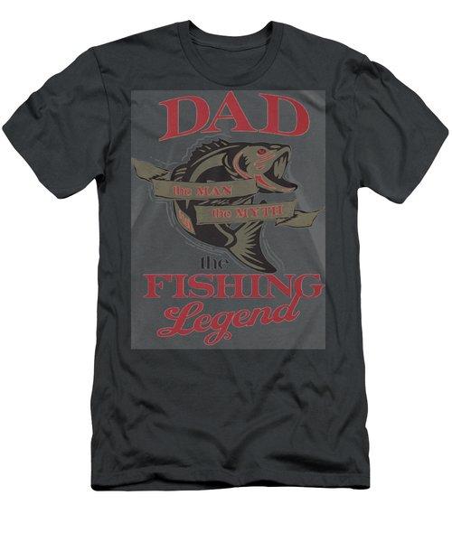 Fishing Men's T-Shirt (Slim Fit) by Thucidol