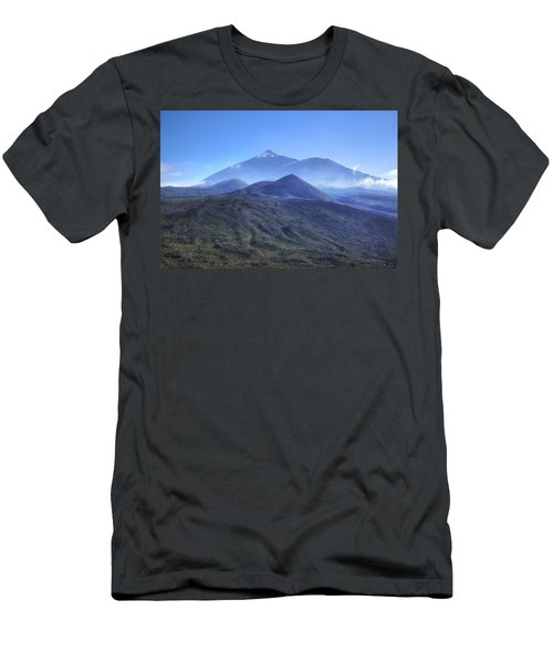 Tenerife - Mount Teide Men's T-Shirt (Slim Fit) by Joana Kruse