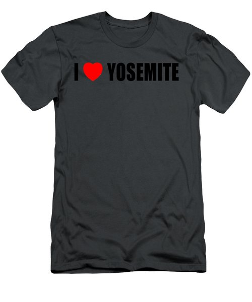 Yosemite National Park Men's T-Shirt (Slim Fit) by Brian's T-shirts