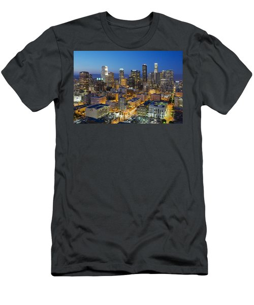 A Night In L A Men's T-Shirt (Slim Fit) by Kelley King