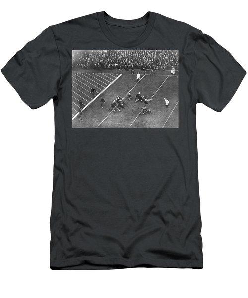 Albie Booth Kick Beats Harvard Men's T-Shirt (Slim Fit) by Underwood Archives
