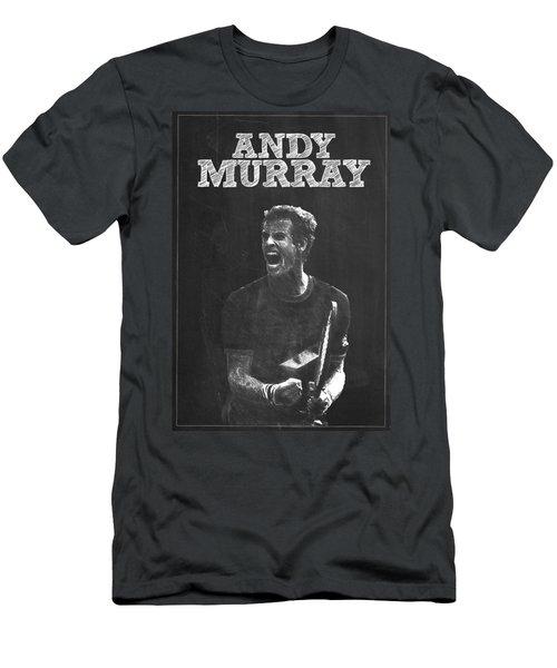 Andy Murray Men's T-Shirt (Slim Fit) by Semih Yurdabak