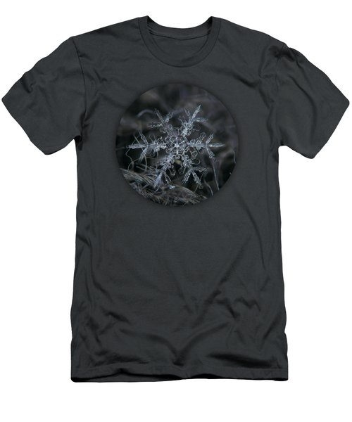 Snowflake 2 Of 19 March 2013 Men's T-Shirt (Slim Fit) by Alexey Kljatov
