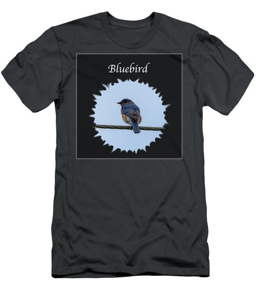 Bluebird Men's T-Shirt (Slim Fit) by Jan M Holden