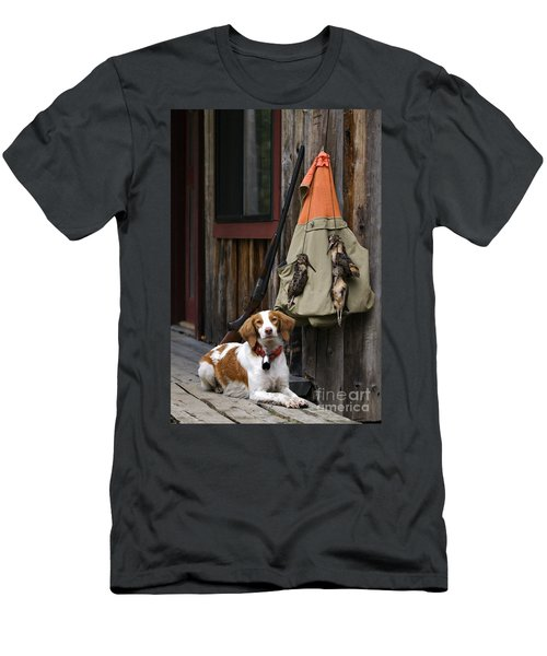 Brittany And Woodcock - D002308 Men's T-Shirt (Slim Fit) by Daniel Dempster