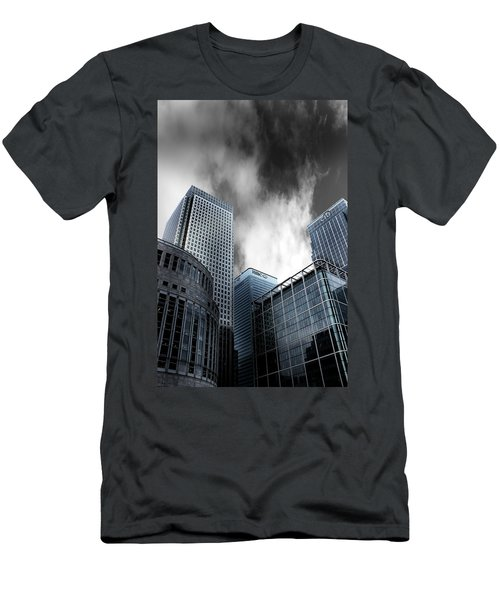 Canary Wharf Men's T-Shirt (Slim Fit) by Martin Newman