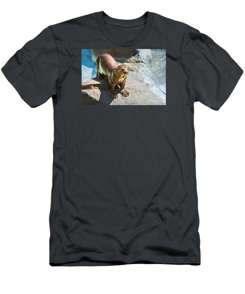 Catching Some Sun Men's T-Shirt (Slim Fit) by Jamie Pham