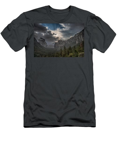 Clouds And Light Men's T-Shirt (Slim Fit) by Bill Roberts