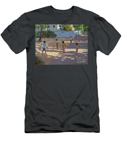 Cochin Men's T-Shirt (Slim Fit) by Andrew Macara