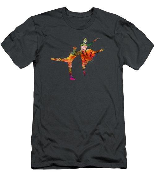 Dancing Queen Men's T-Shirt (Slim Fit) by Mark Ashkenazi