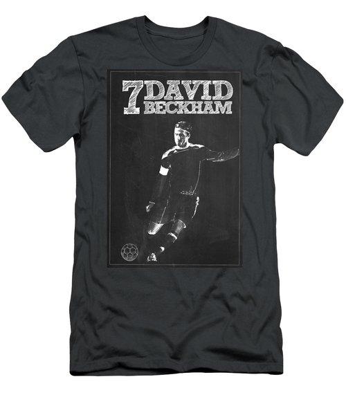 David Beckham Men's T-Shirt (Slim Fit) by Semih Yurdabak