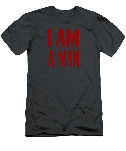 I Am A Man Men's T-Shirt (Slim Fit) by War Is Hell Store