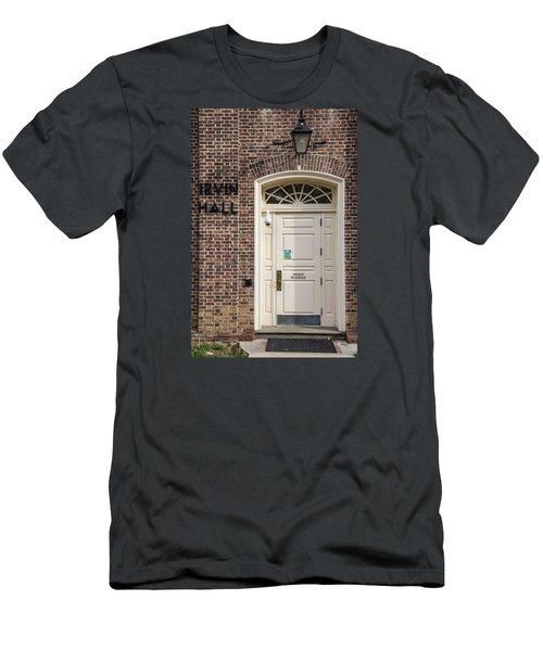 Irvin Hall Penn State  Men's T-Shirt (Slim Fit) by John McGraw