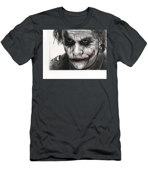 Joker Face Men's T-Shirt (Slim Fit) by James Holko