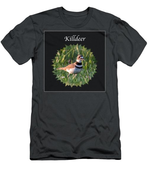 Killdeer Men's T-Shirt (Slim Fit) by Jan M Holden