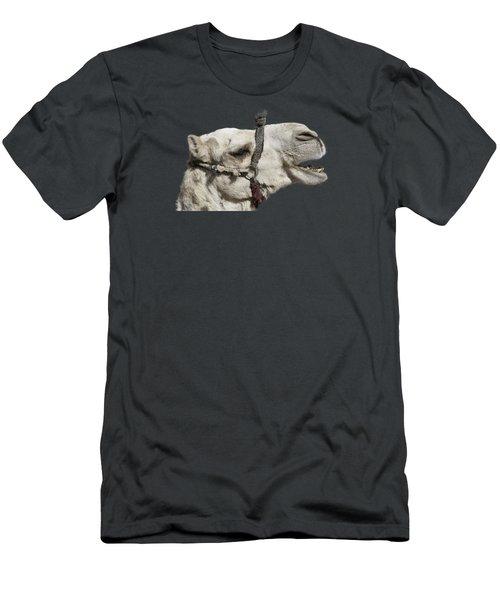Laughing Camel Men's T-Shirt (Slim Fit) by Roy Pedersen