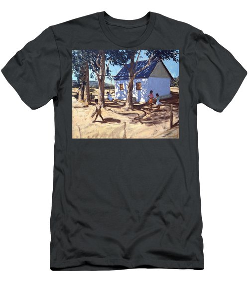 Little White House Karoo South Africa Men's T-Shirt (Slim Fit) by Andrew Macara