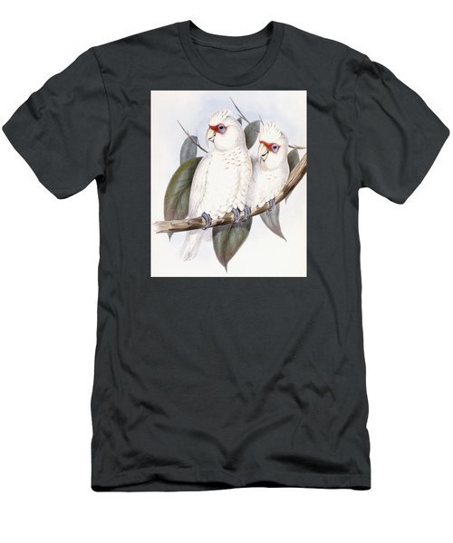 Long-billed Cockatoo Men's T-Shirt (Slim Fit) by John Gould