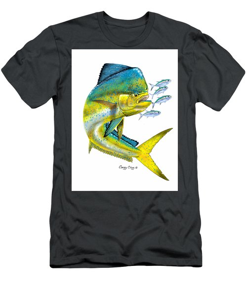 Mahi Digital Men's T-Shirt (Slim Fit) by Carey Chen