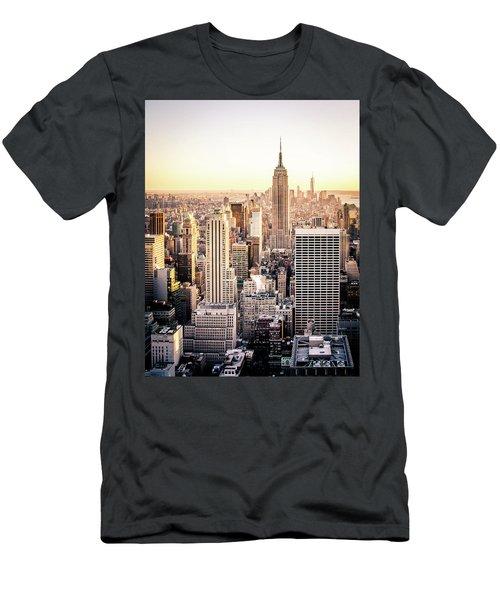 Manhattan Men's T-Shirt (Slim Fit) by Michael Weber
