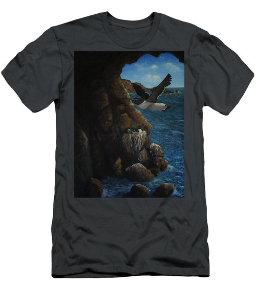 Razorbills Men's T-Shirt (Slim Fit) by Eric Petrie