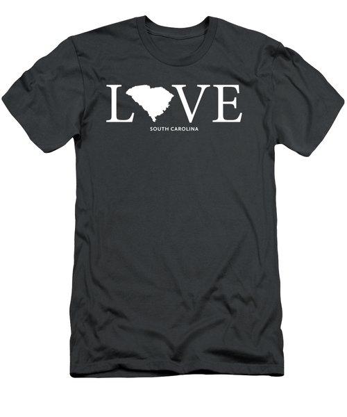 Sc Love Men's T-Shirt (Slim Fit) by Nancy Ingersoll
