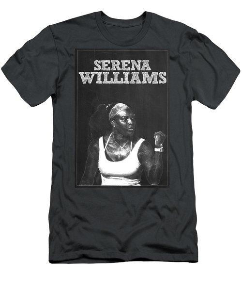 Serena Williams Men's T-Shirt (Slim Fit) by Semih Yurdabak
