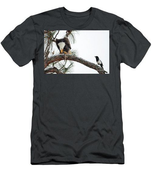 Share The Wealth Men's T-Shirt (Slim Fit) by Mike Dawson