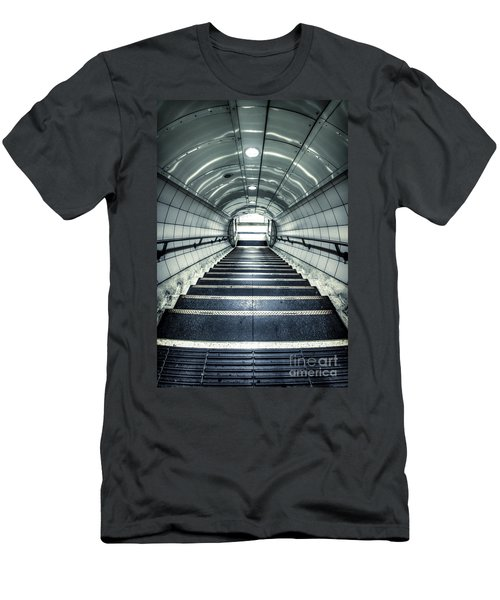 Steppings Tones Men's T-Shirt (Slim Fit) by Evelina Kremsdorf