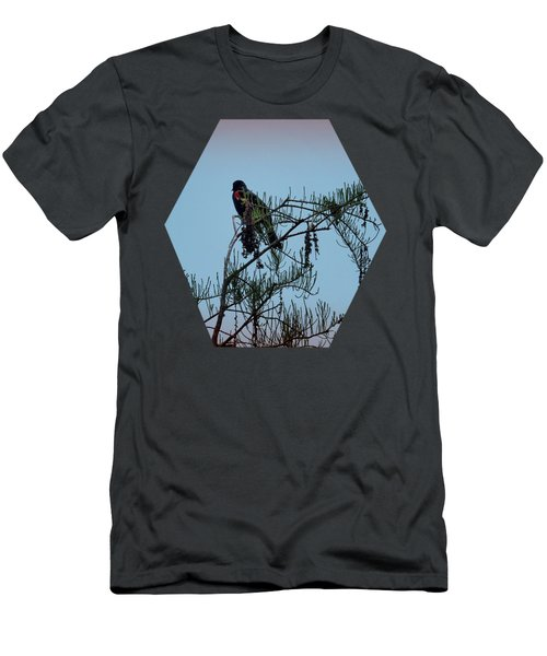 Stillness Men's T-Shirt (Slim Fit) by Jim Hill