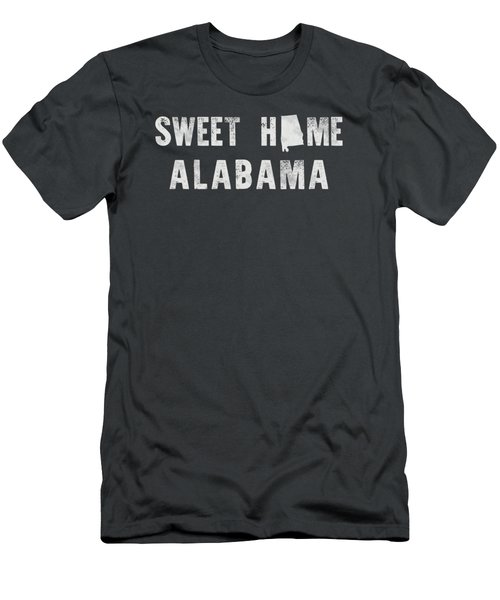 Sweet Home Alabama Men's T-Shirt (Slim Fit) by Nancy Ingersoll