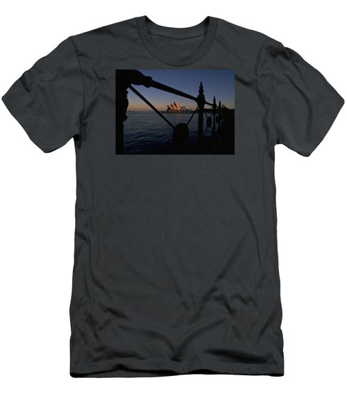 Men's T-Shirt (Slim Fit) featuring the photograph Sydney Opera House by Travel Pics
