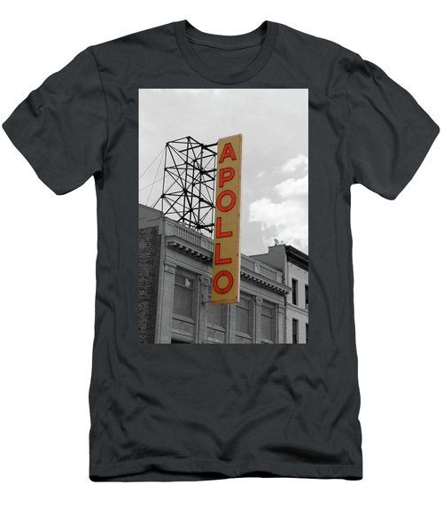 The Apollo In Harlem Men's T-Shirt (Slim Fit) by Danny Thomas