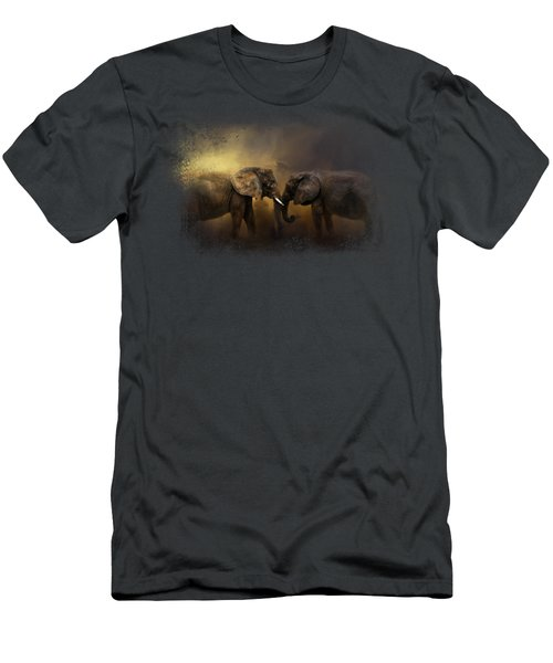 Together Through The Storms Men's T-Shirt (Slim Fit) by Jai Johnson