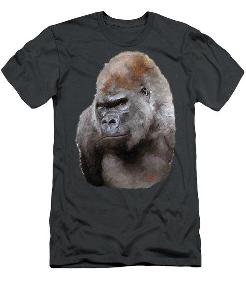 U Lookin At Me Men's T-Shirt (Slim Fit) by James Shepherd