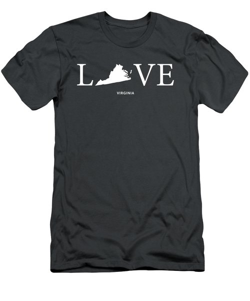 Va Love Men's T-Shirt (Slim Fit) by Nancy Ingersoll
