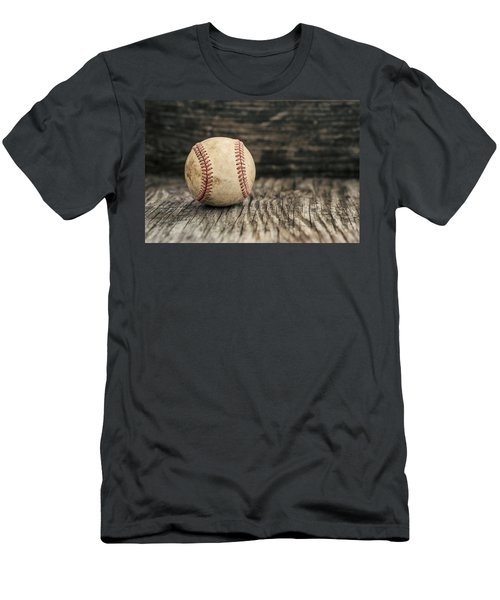 Vintage Baseball Men's T-Shirt (Slim Fit) by Terry DeLuco