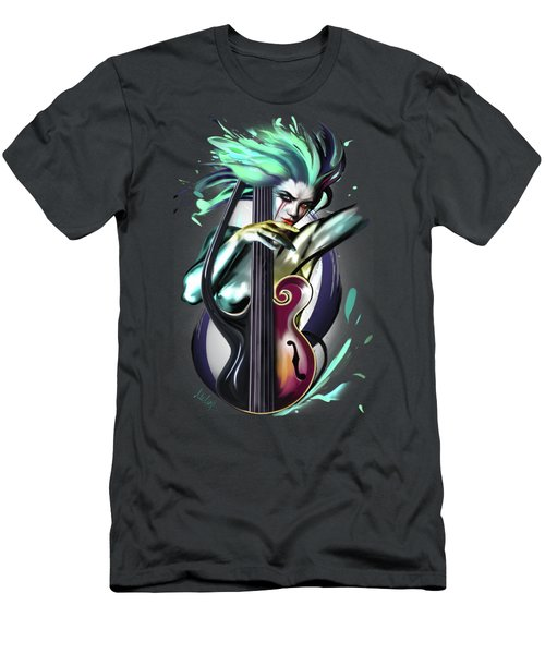 Virgo Men's T-Shirt (Slim Fit) by Melanie D