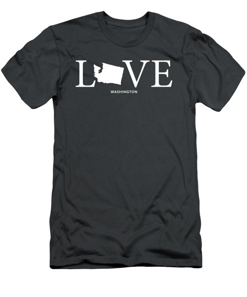 Wa Love Men's T-Shirt (Slim Fit) by Nancy Ingersoll