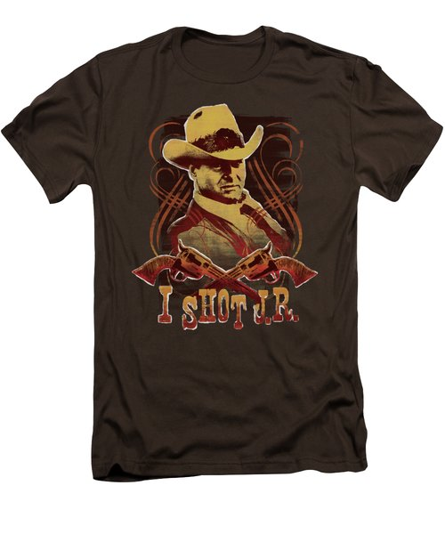Dallas - I Shot Jr Men's T-Shirt (Slim Fit) by Brand A