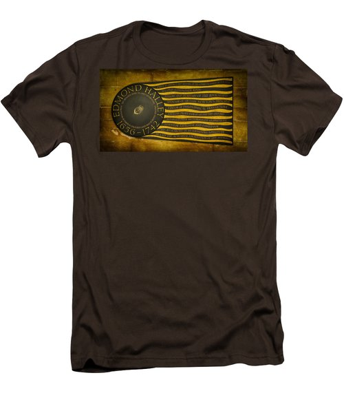 Edmond Halley Memorial Men's T-Shirt (Slim Fit) by Stephen Stookey