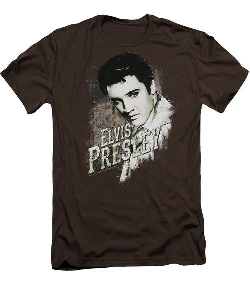 Elvis - Rugged Elvis Men's T-Shirt (Slim Fit) by Brand A