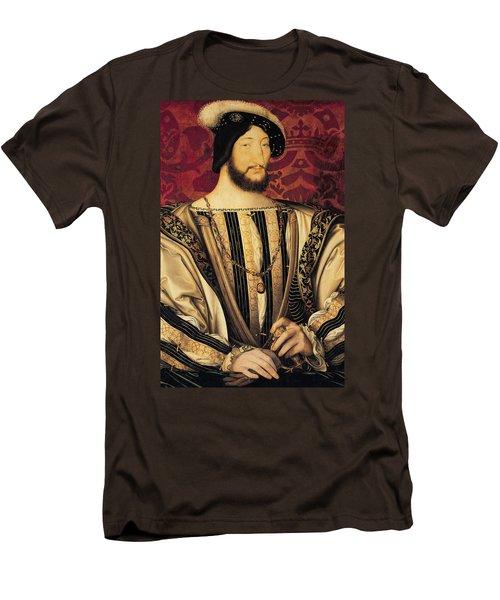 Francois I Men's T-Shirt (Slim Fit) by Jean Clouet