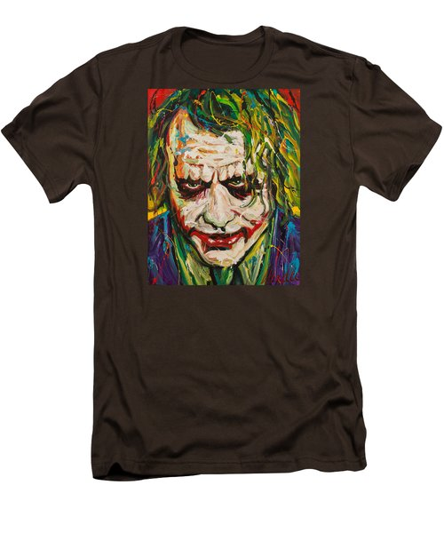 Joker Men's T-Shirt (Slim Fit) by Michael Wardle