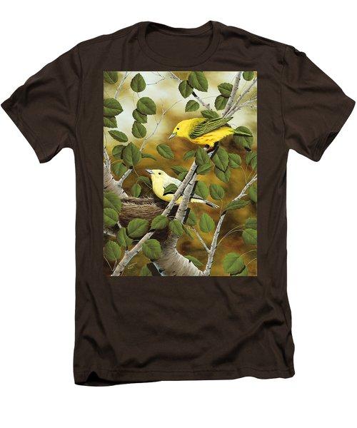 Love Nest Men's T-Shirt (Slim Fit) by Rick Bainbridge