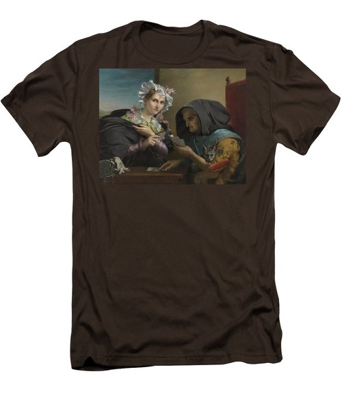 The Fortune Teller Men's T-Shirt (Slim Fit) by Adele Kindt