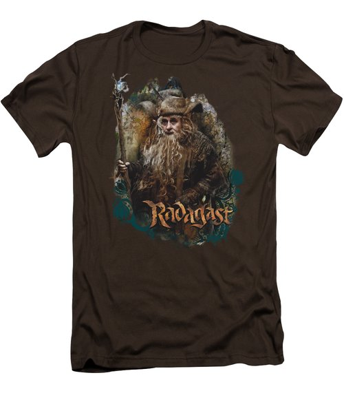 The Hobbit - Radagast The Brown Men's T-Shirt (Slim Fit) by Brand A