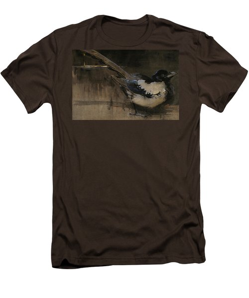 The Magpie Men's T-Shirt (Slim Fit) by Joseph Crawhall