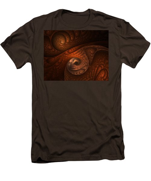Developing Minotaur Men's T-Shirt (Slim Fit) by Lourry Legarde